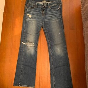 EUC American Eagle stretch boot jeans